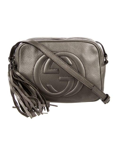 Gucci Soho Disco Crossbody Bag Metallic