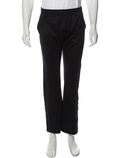 Gucci Web-Trimmed Lounge Pants navy