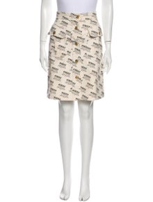 Gucci Printed Knee-Length Skirt