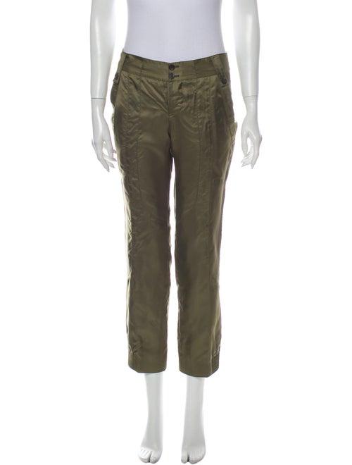 Gucci Straight Leg Pants Green