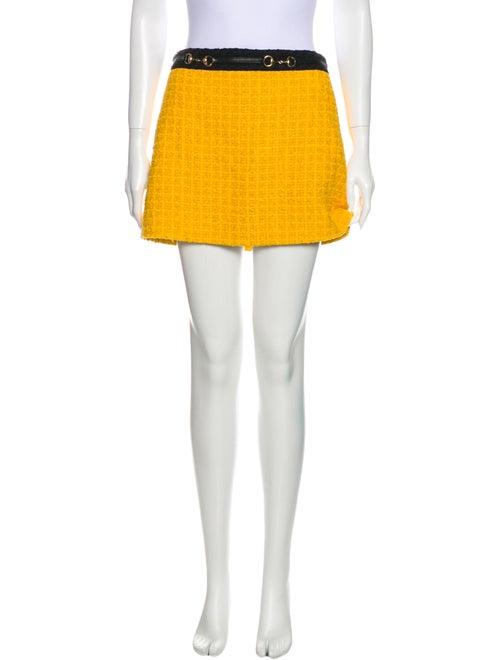 Gucci 2018 Mini Skirt w/ Tags Yellow