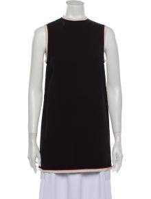Gucci Mock Neck Sleeveless Tunic
