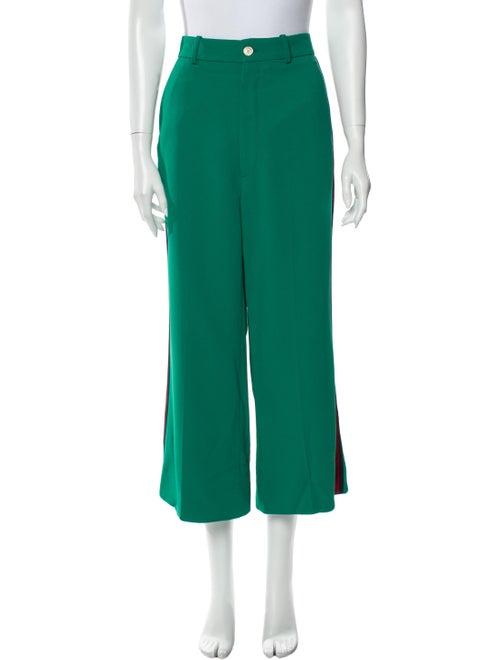 Gucci Wide Leg Pants Green