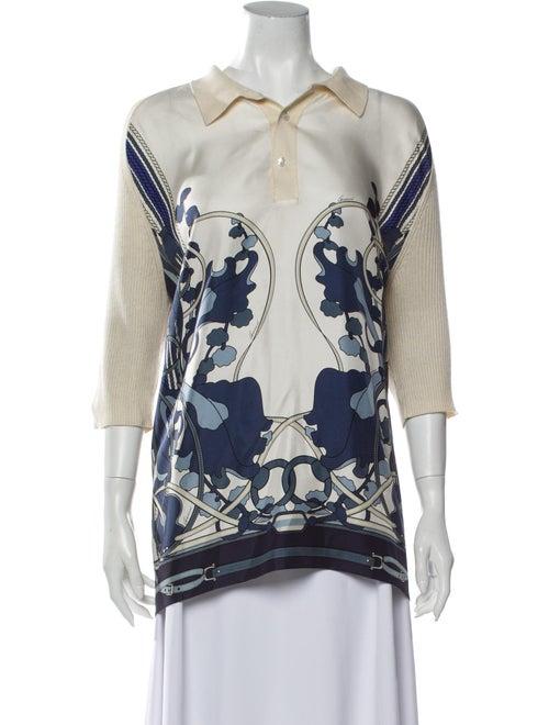 Gucci Silk Printed Tunic
