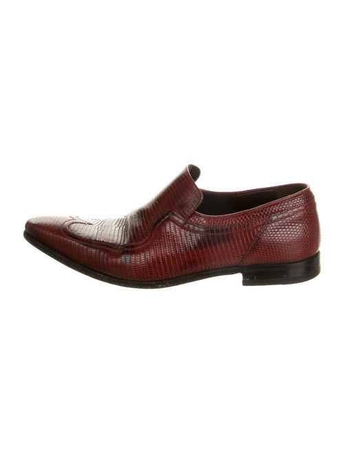 Gucci Leather Loafers Brown