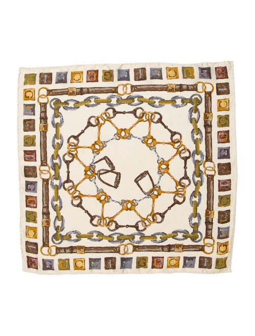 Gucci Printed Silk Scarf multicolor