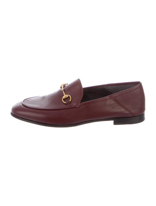 Gucci Brixton Horsebit Accent Loafers
