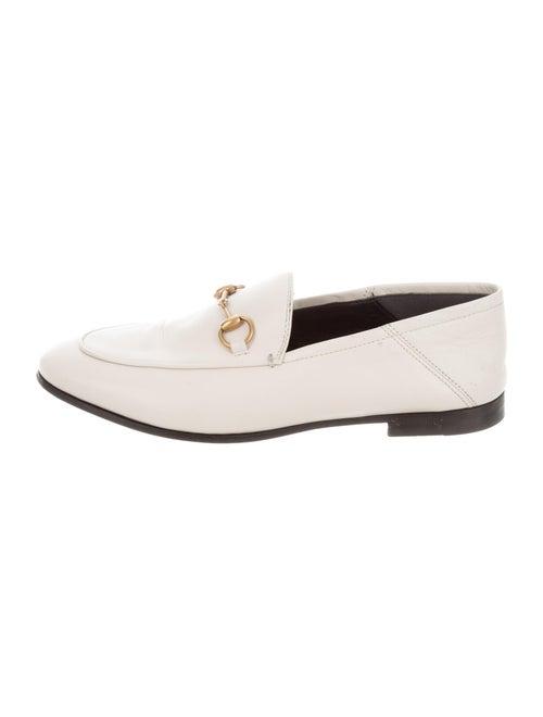 Gucci Jordaan Horsebit Accent Loafers
