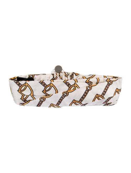 Gucci 2019 Printed Silk Headband w/ Tags