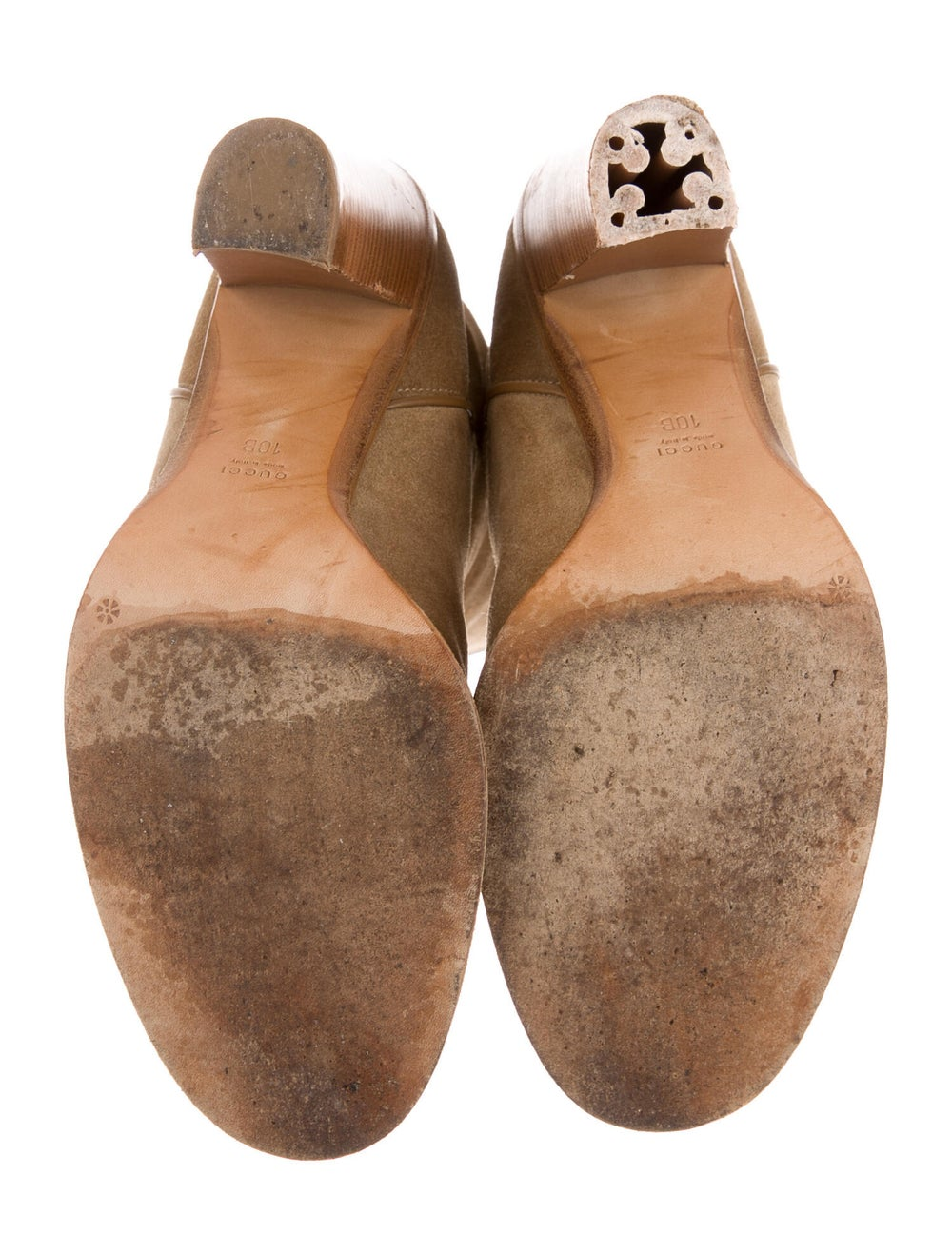 Gucci Suede Western Boots - image 5