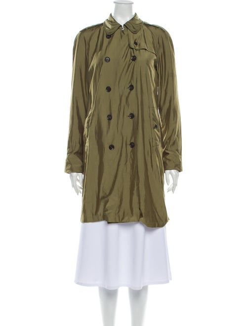 Gucci Trench Coat Green