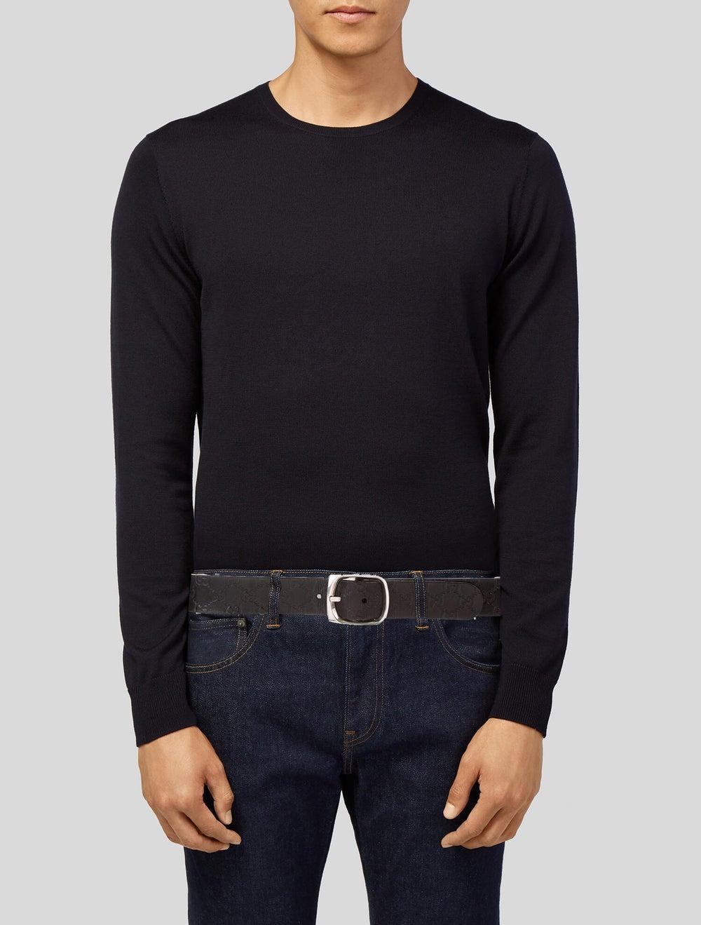 Gucci Signature Leather Belt black - image 2