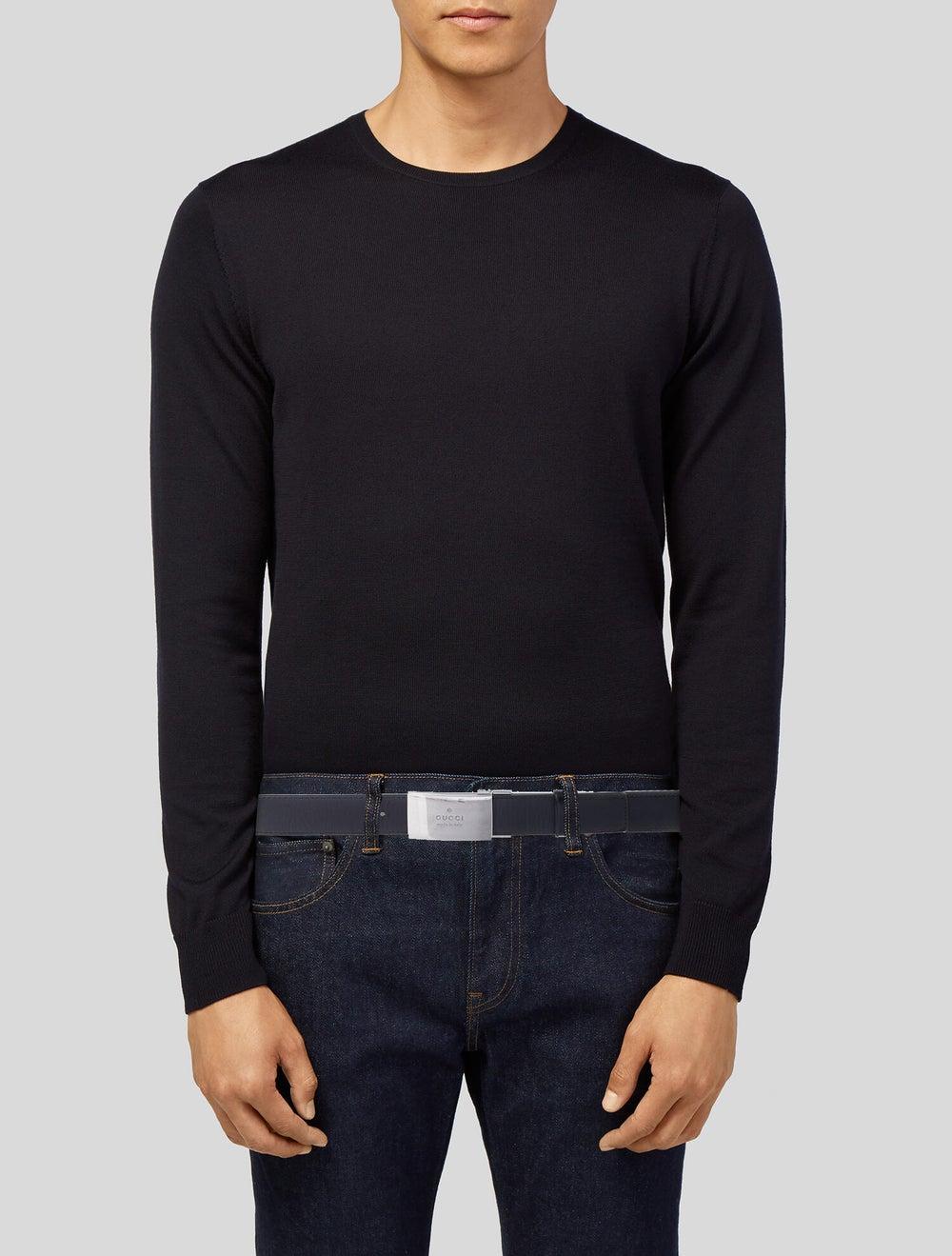 Gucci Leather Belt black - image 2