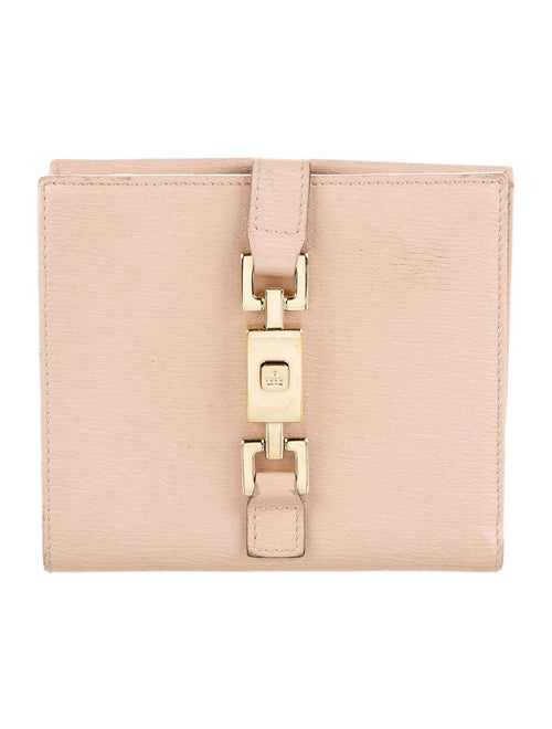 Gucci Jackie Leather Wallet Pink