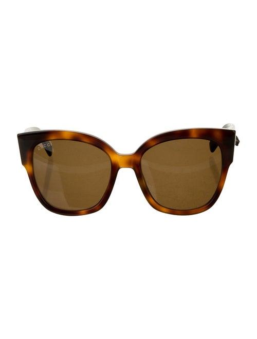 Gucci Web GG Sunglasses Brown