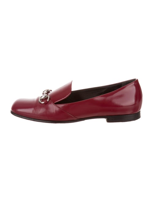 Gucci Horsebit Accent Leather Loafers