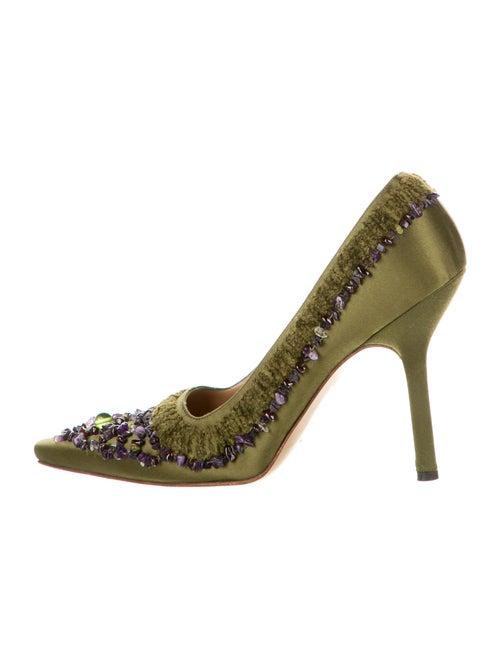 Gucci Pumps Green - image 1