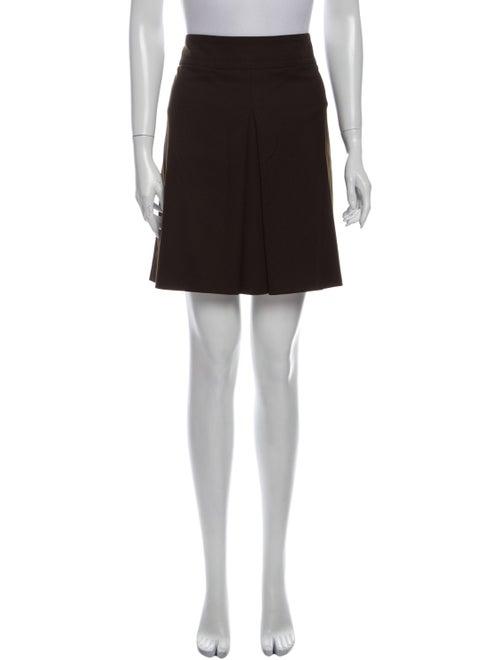 Gucci Mini Skirt Brown