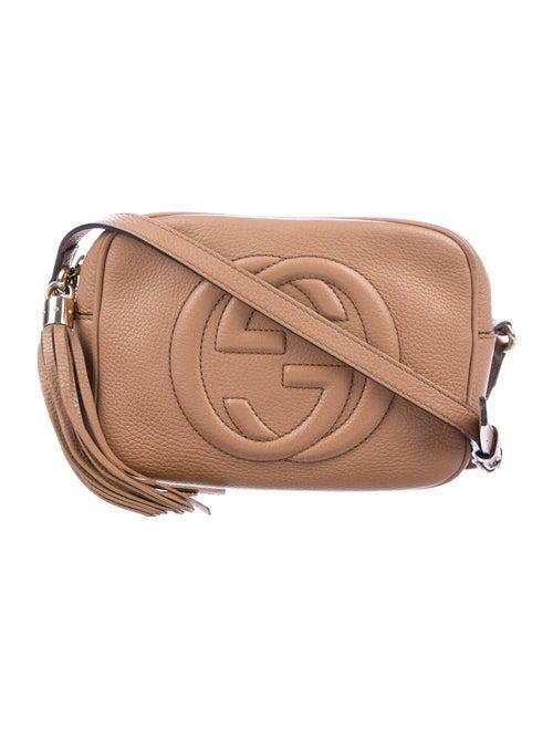 Gucci Soho Disco Crossbody Bag Tan