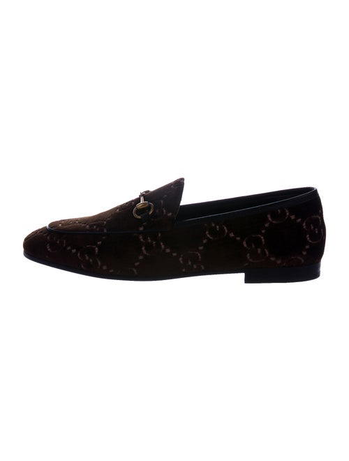 Gucci Printed Loafers w/ Tags Brown