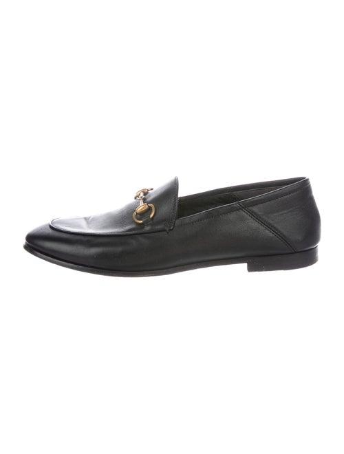 Gucci Brixton Horsebit Accent Loafers Black