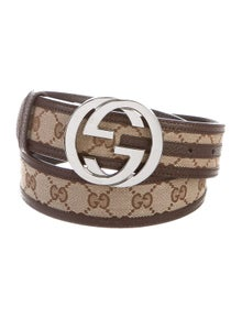 Gucci GG Supreme Canvas Belt