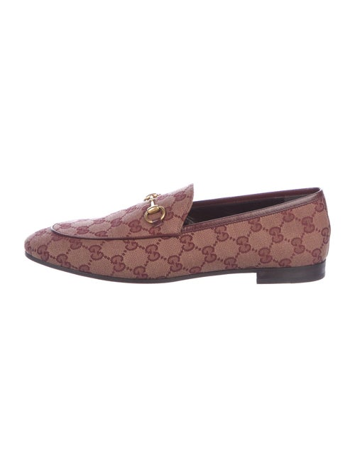 Gucci GG Canvas Loafers w/ Tags
