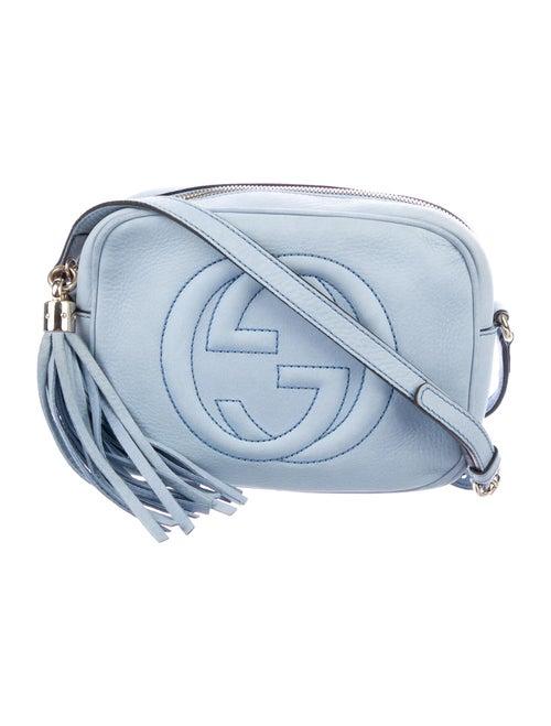 Gucci Soho Disco Crossbody Bag blue