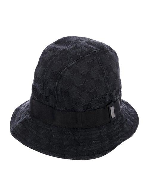 Gucci GG Canvas Bucket Hat Black