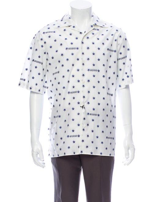 Gucci 2019 Printed Shirt w/ Tags White