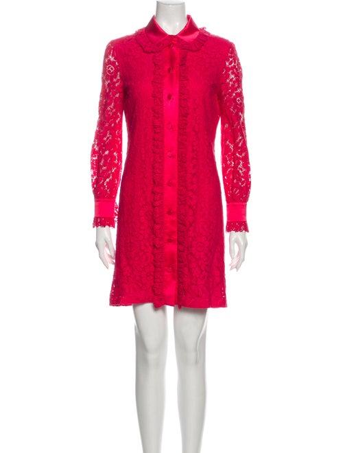 Gucci 2016 Mini Dress Pink