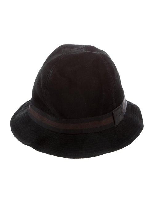 Gucci Suede Bucket Hat black