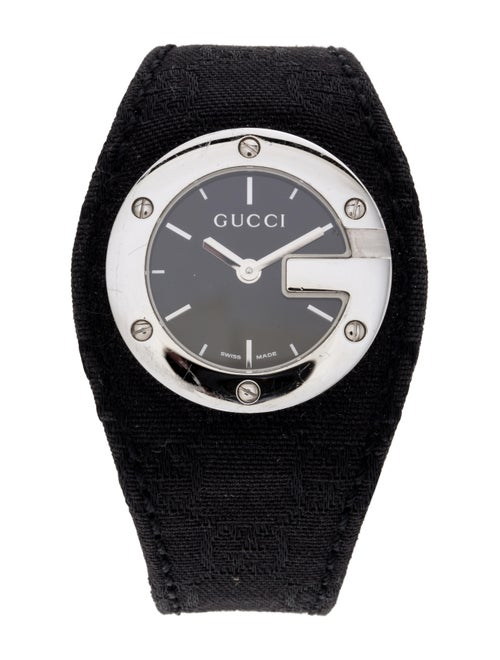 Gucci 104 Series Watch black