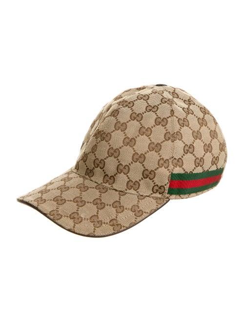 Gucci GG Canvas Baseball Cap tan