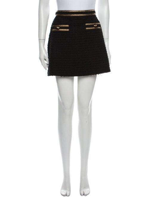 Gucci 2019 Mini Skirt Black