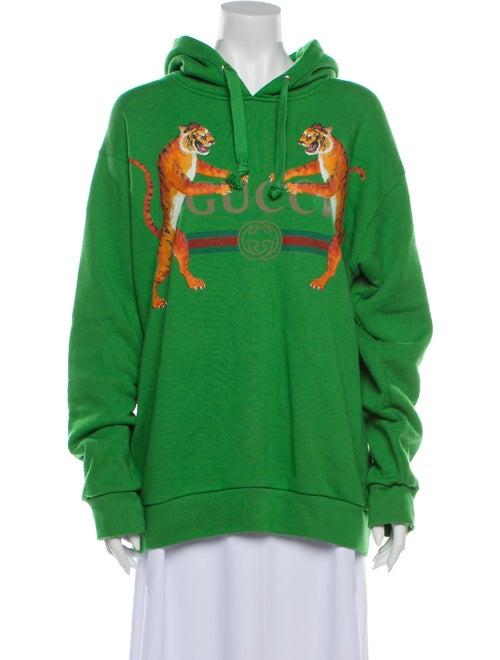 Gucci 2018 Tiger Sweatshirt Green