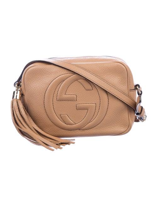 Gucci Soho Small Leather Disco Bag Tan