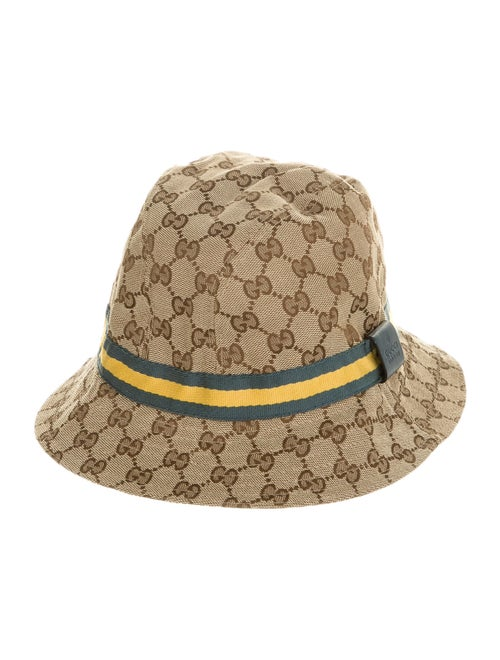 Gucci GG Canvas Bucket Hat Tan