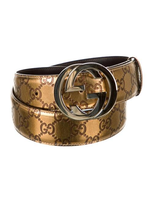 Gucci Signature Hip Belt Gold