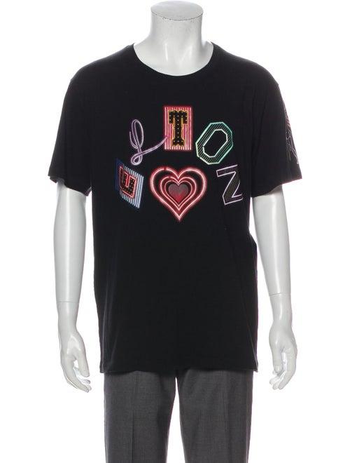 Gucci 2018 Elton John T-Shirt Black