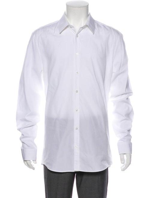 Gucci Poplin Long Sleeve Dress Shirt White