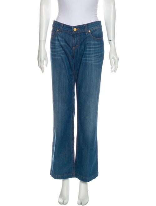 Gucci 70's Wide Leg Jeans Blue