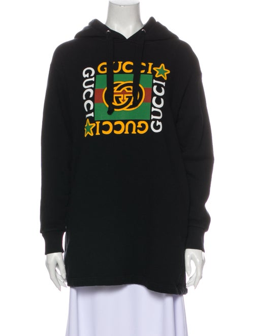 Gucci 2020 Graphic Print Sweatshirt Black