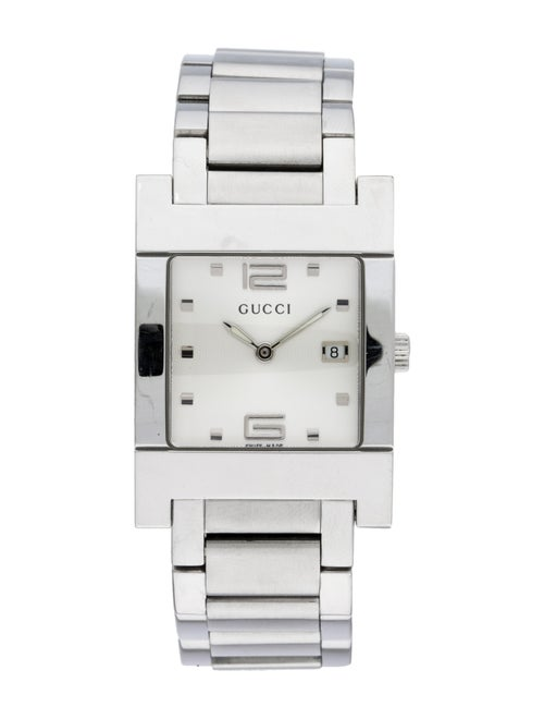 Gucci 7700 Series Watch Silver