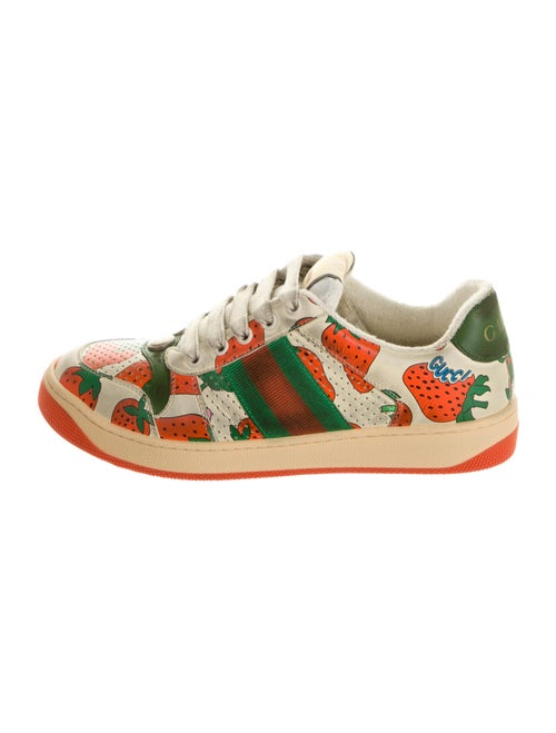 Gucci Screener Strawberry Sneakers w/ Tags