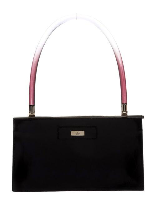 Gucci Leather Evening Bag Black
