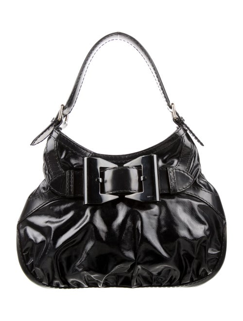 Gucci Dialux Queen Hobo Black