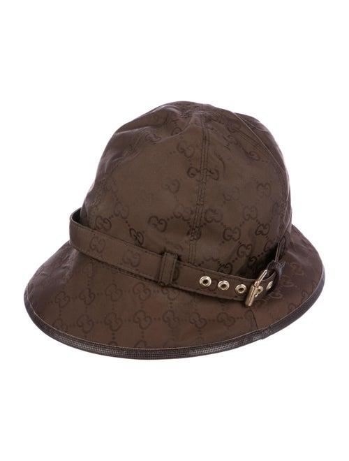 Gucci GG Nylon Bucket Hat Brown