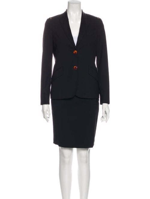 Gucci Wool Skirt Suit Wool