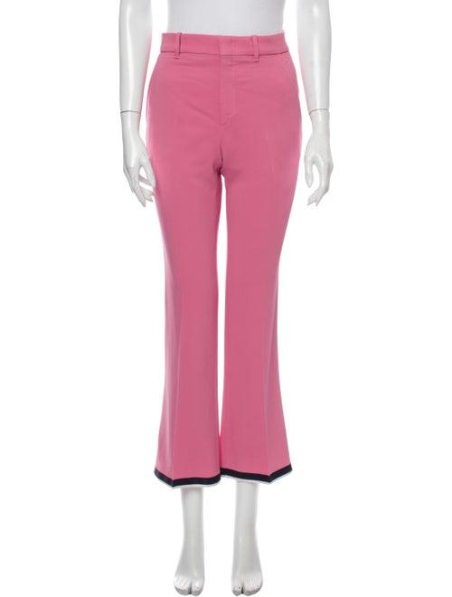 Gucci Wide Leg Pants Pink